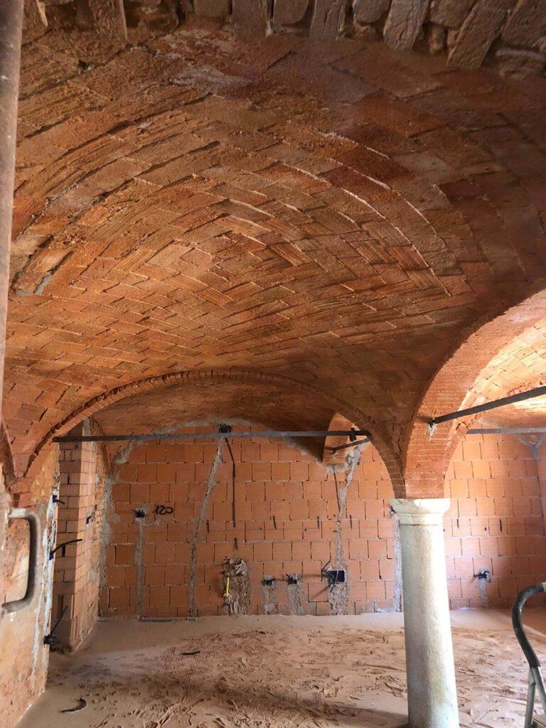 Sabbiatura e restauro mattoni