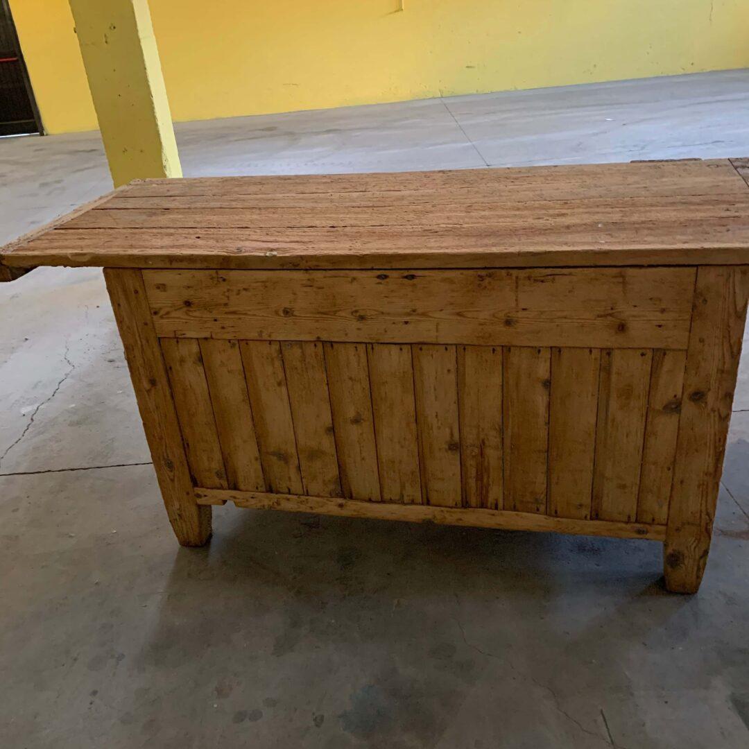 Sabbiatura a bassa pressione tavolo e sedie