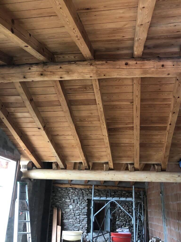 Sabbiatura legno e antitarlo