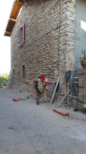 Sabbiatura Muro in Pietra